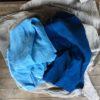 コラボの藍染めリネン その1
